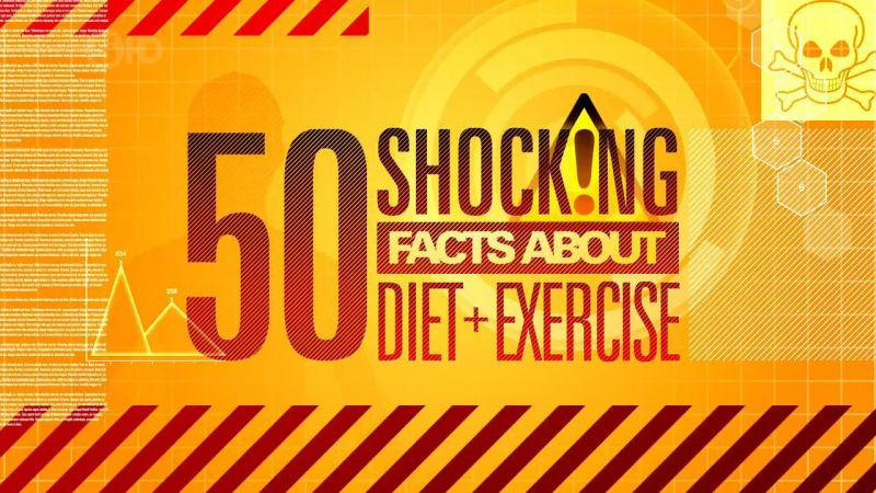50 Shocking Facts About Diet and Exercise
