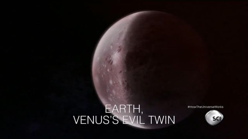 Earth Venus's Evil Twin (How the Universe Works S4E2)