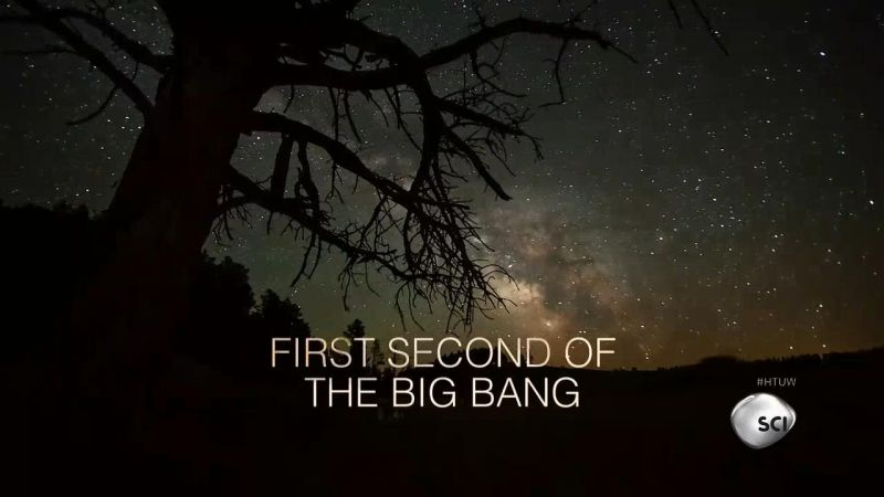 First Second of the Big Bang