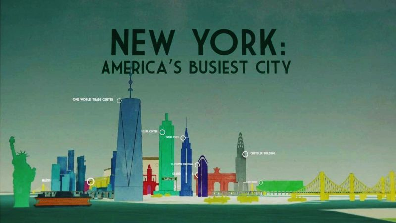 Grand Central Terminal (New York: America's Busiest City Part 1)