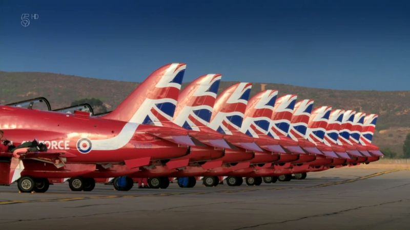 Caps of Ch.5 - Red Arrows Take America: Series 1 (2020)