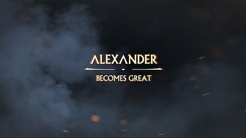Alexander Becomes Great