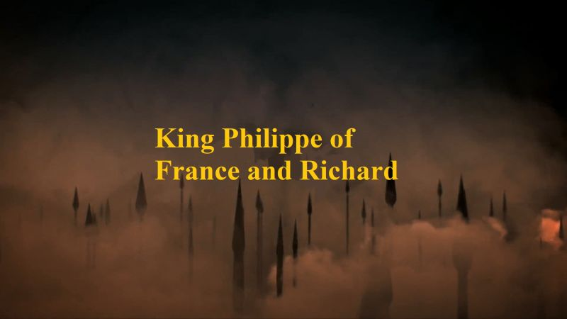 King Philippe of France and Richard the Lionheart of England