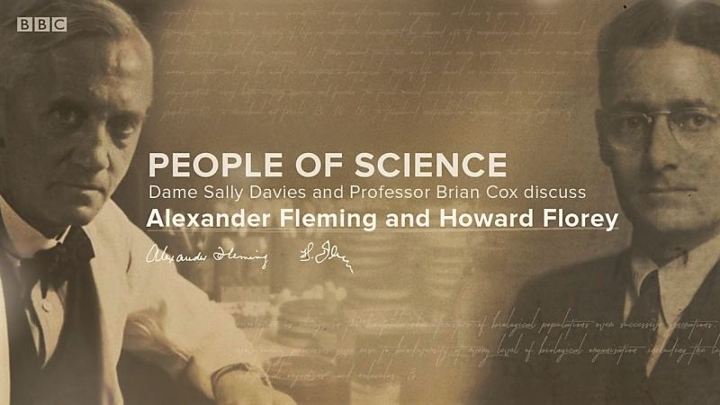 Dame Sally Davies discusses Alexander Fleming and Howard Florey
