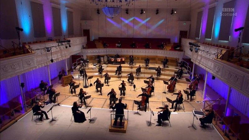 Caps of BBC - A Musical Celebration with the Scottish Symphony Orchestra (2020)