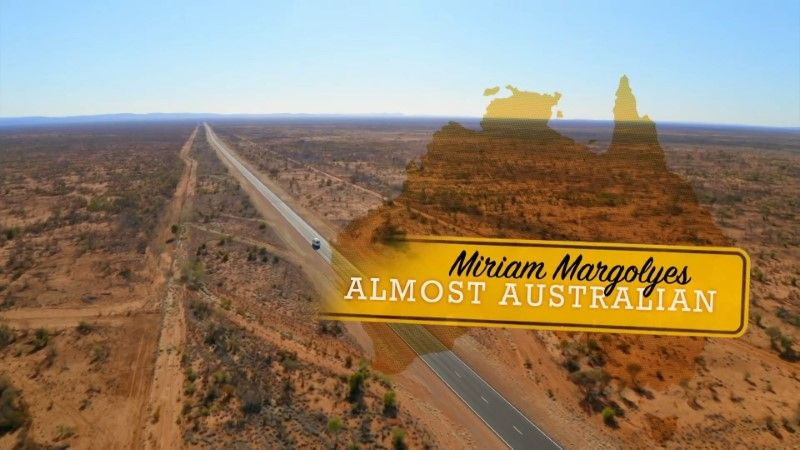 Poster of BBC Miriam Margolyes Almost Australian Series 1 3of3 1080p HDTV