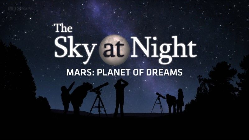 Poster of BBC The Sky at Night 2020 Mars Planet of Dreams 1080p HDTV