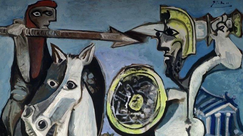 Caps of BBC - Picasso's Last Stand (2018)