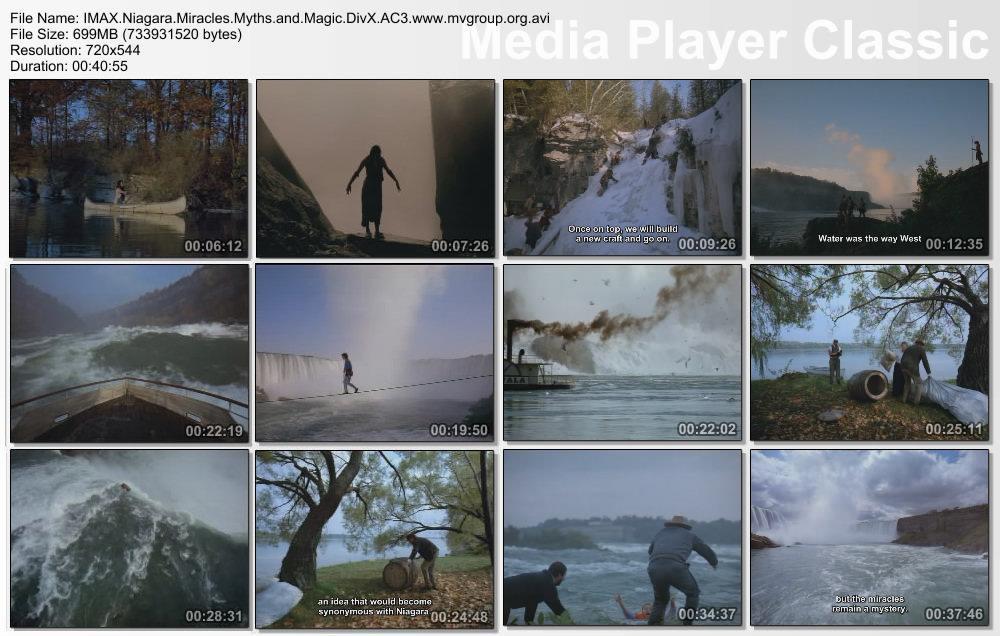 IMAX Niagara Miracles Myths and Magic DivX AC3  org avi preview 1