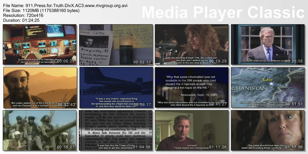 9/11 Press for Truth DivX AC3 (hi res/bitrate) preview 3