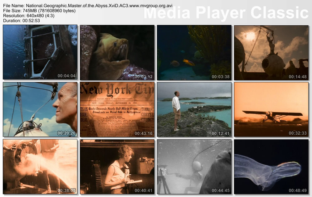 NGC Master of the Abyss XviD AC3 ( preview 1
