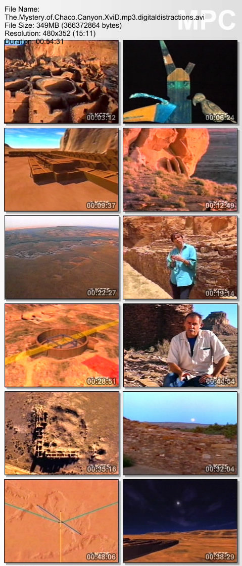 The Mystery of Chaco Canyon XviD mp3 (forums mvgroup org) preview 1
