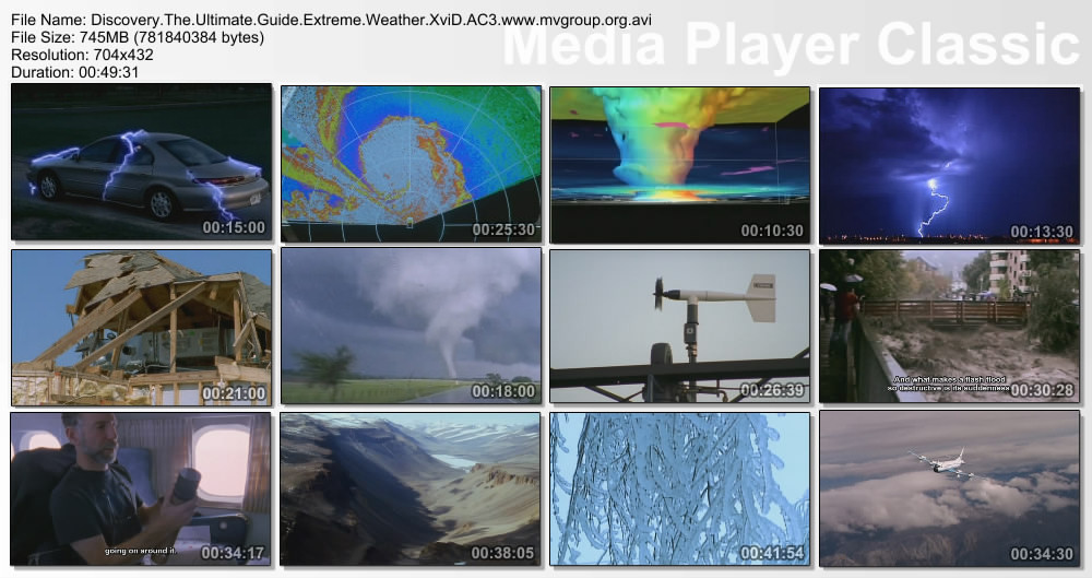 Discovery   Extreme Weather: The Ultimate Guide XviD AC3 ( preview 1