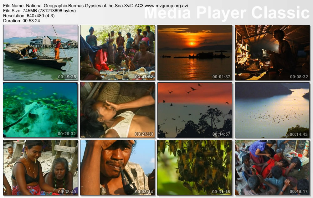 NGC Burma's Gypsies of the Sea XviD AC3 ( preview 1