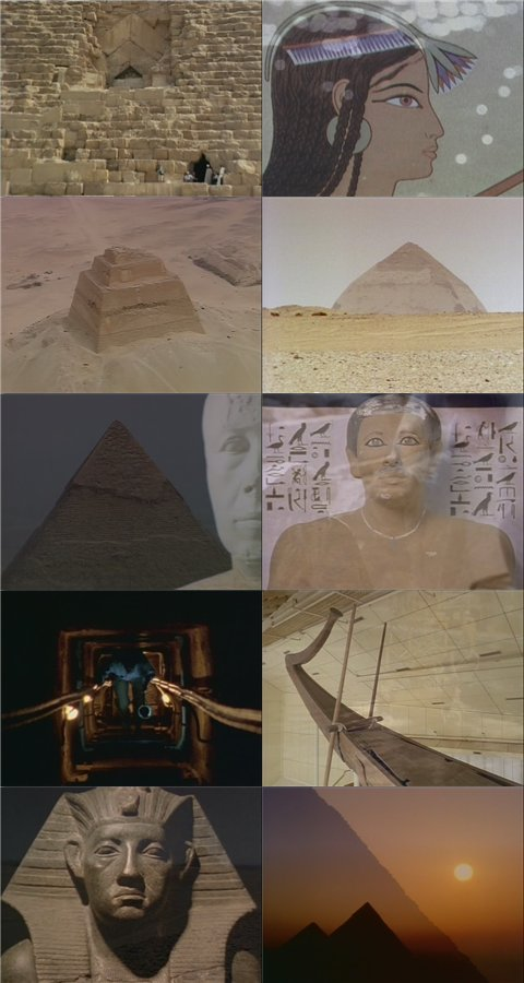 DSC The Great Egyptians 1of6 King of the Pyramids DivX AC3 dual audio ( preview 3