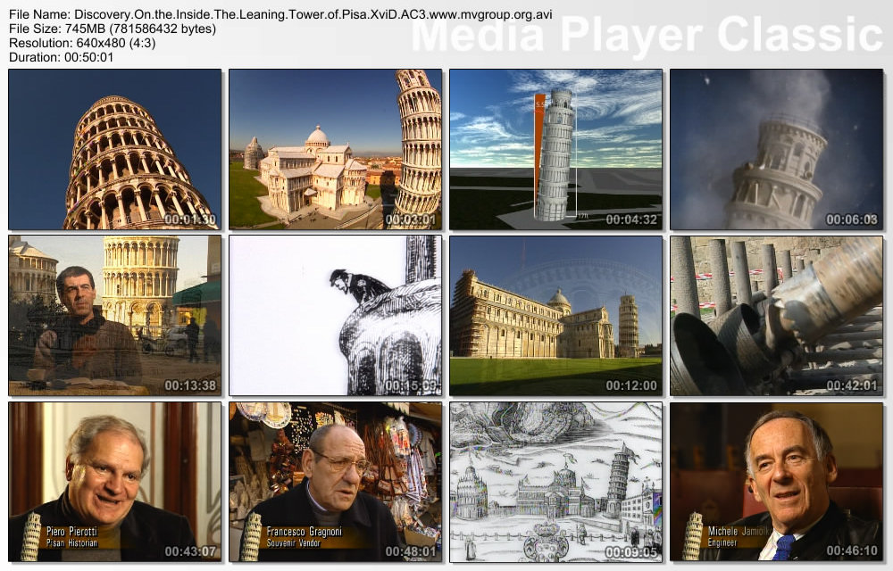 DSC Inside the Leaning Tower of Pisa XviD AC3 ( preview 1