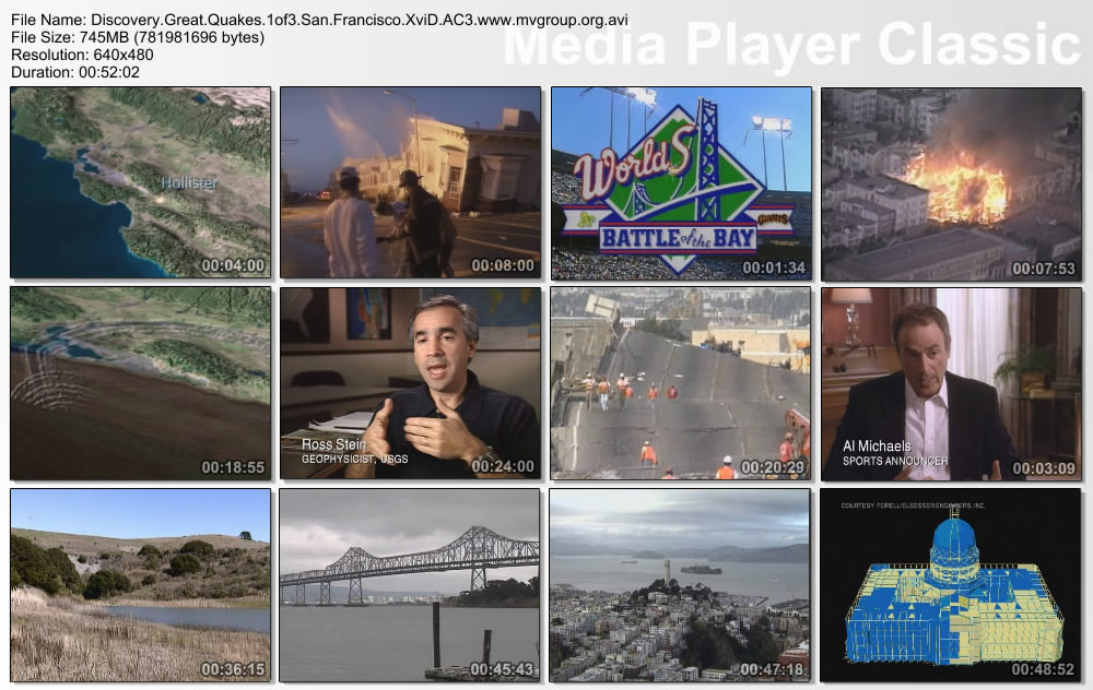 Discovery: Great Quakes   San Francisco XviD AC3 ( preview 2