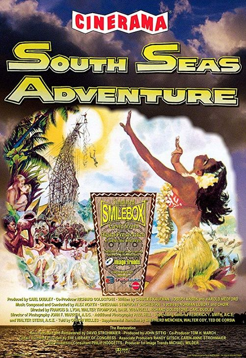 Poster of South Seas Adventure BluRay DTS