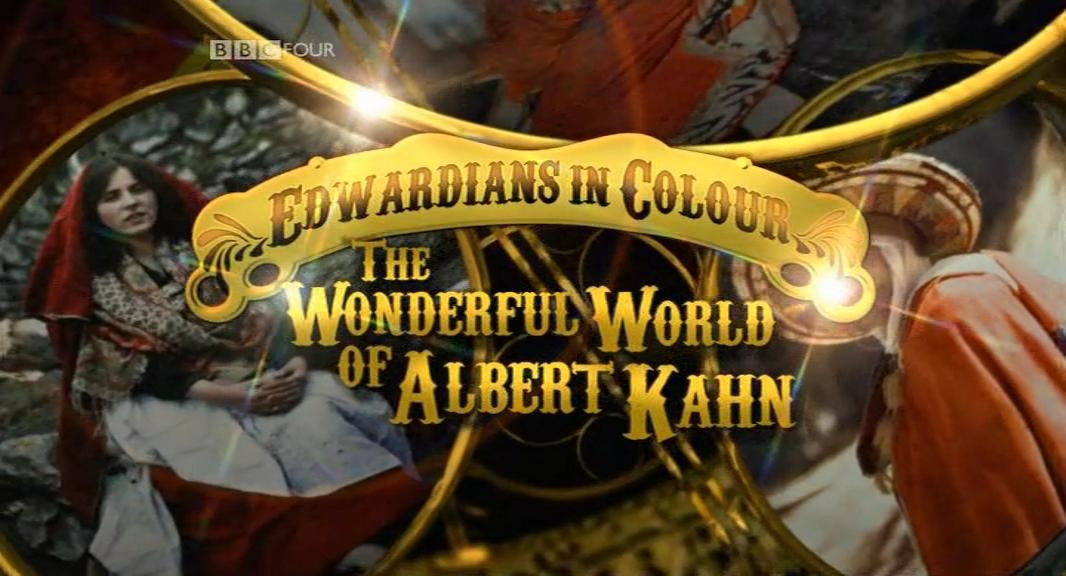 BBC Edwardians In Colour The Wonderful World of Albert Kahn 1of5 Vision of the World DVB x264 mp3 ww preview 0