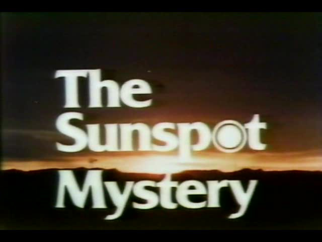 BBC Horizon 1977 The Sunspot Mystery Xvid MP3 UKNova preview 0